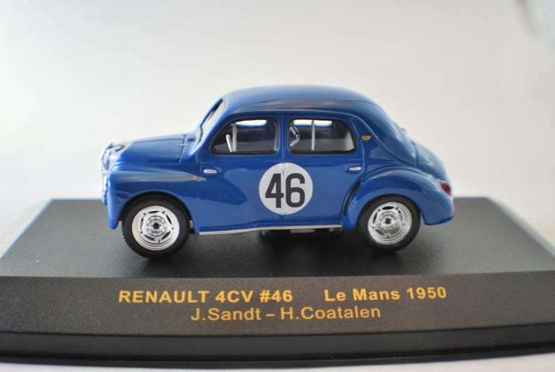 Illustration for article titled French Friday: RENAULT 4CV 1950 Le Mans class winner