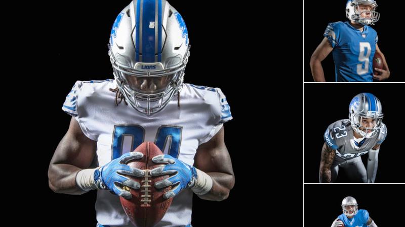 0559ad3a9 Detroit Lions Unveil New Uniforms Very Similar To Current Uniforms