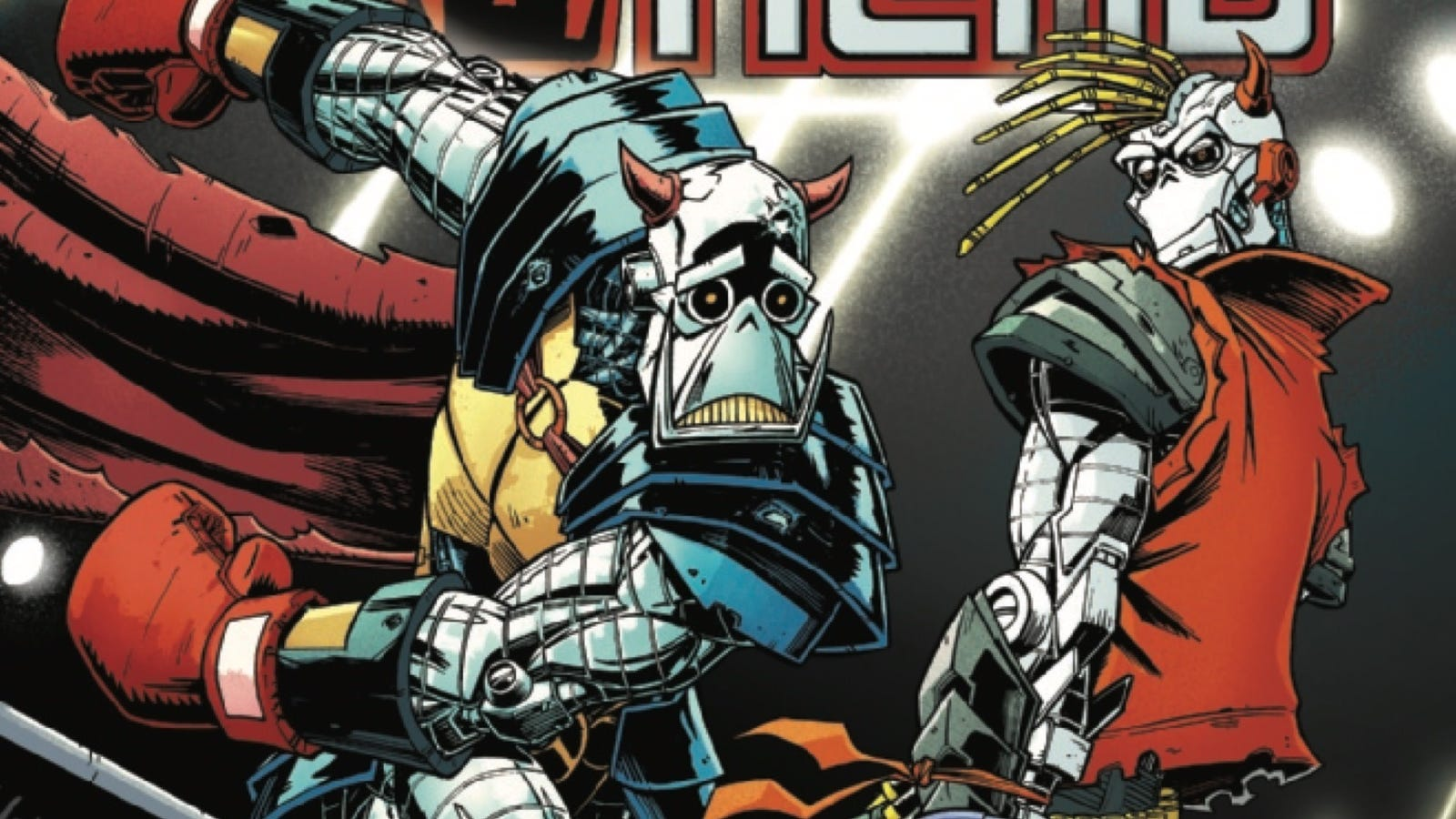 Death's Head and the Young Avengers blow up killer robots in this exclusive