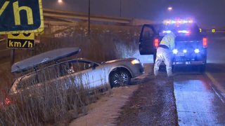 Illustration for article titled 30-vehicle collision in Freezing Rain