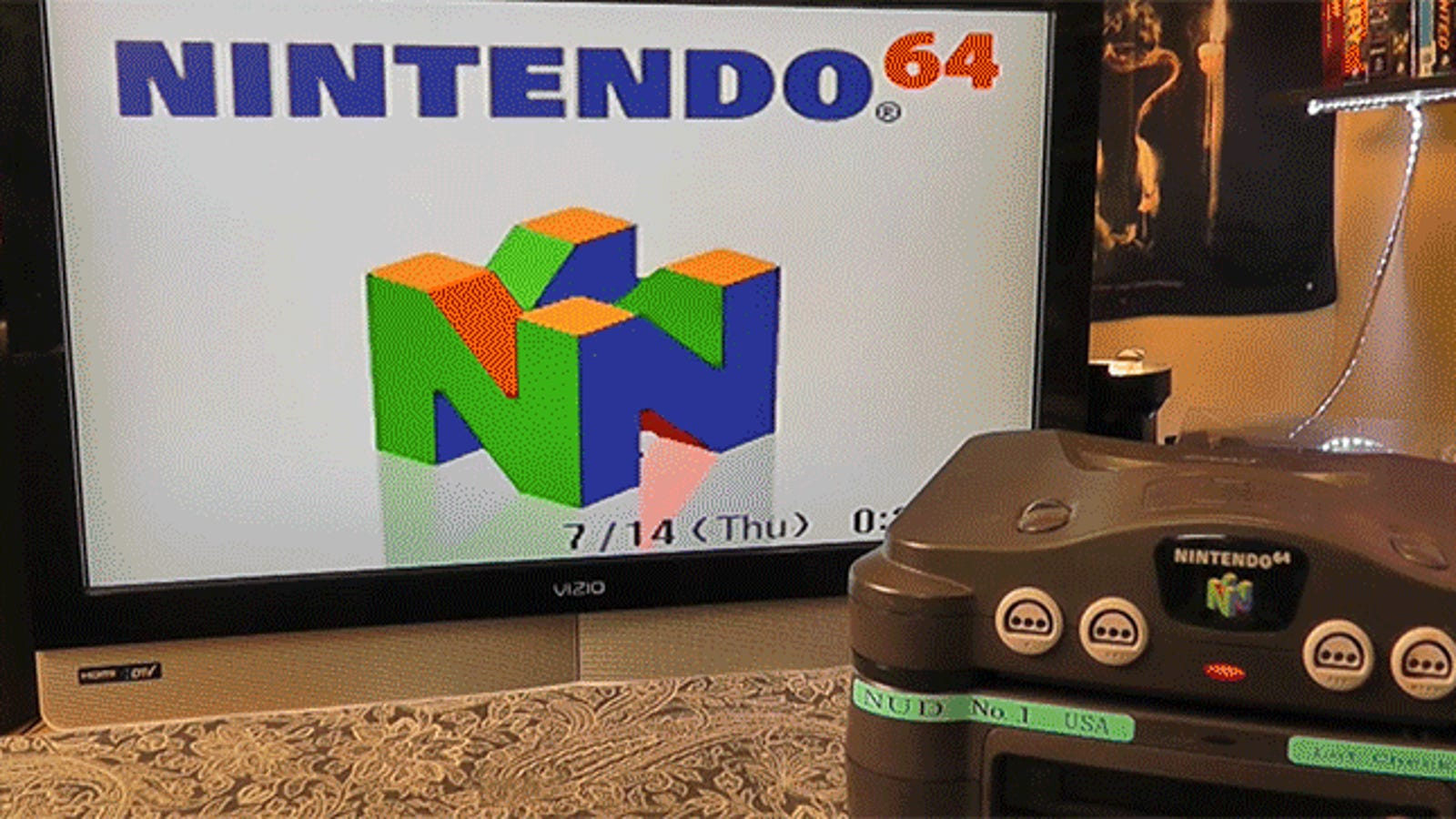 impossibly rare nintendo 64 disk drive discovered by very lucky