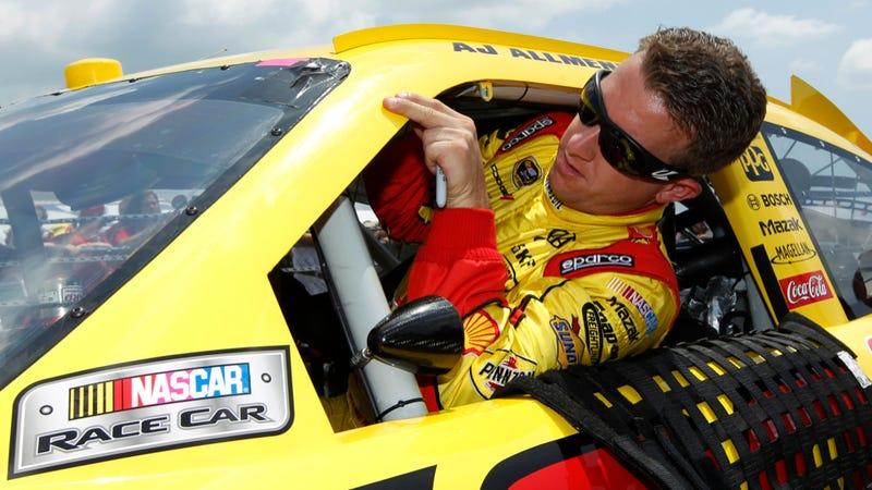 Illustration for article titled Suspended NASCAR Driver AJ Allmendinger Will Enter NASCAR's Rehab Program