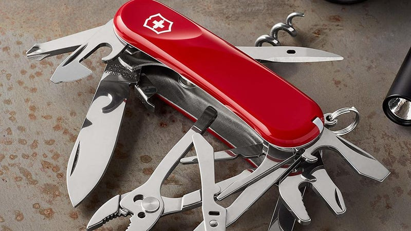 Victorinox Swiss Army Evolution Pocket Knife | $32 | Amazon