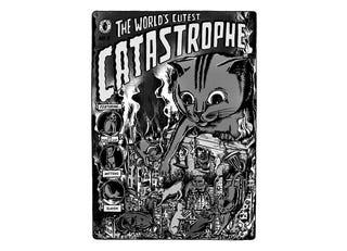 Illustration for article titled The Graveyard Shift - Cat-astrophy