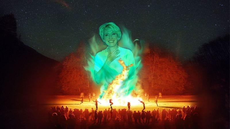 Illustration for article titled Nation's Moms Dance Nude Around Moonlit Bonfire To Conjure Spirit Of Emma Thompson