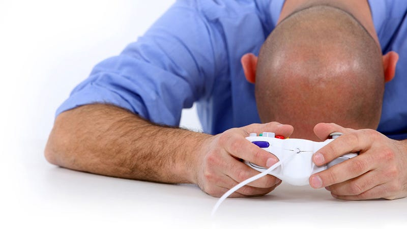 Illustration for article titled The GameCube Controller Lives On in the Hands of Fake Gamers