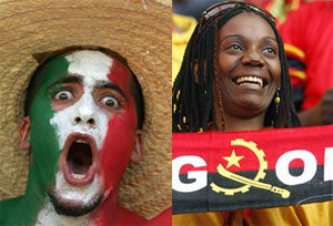 Illustration for article titled Live Blog: Mexico vs. Angola