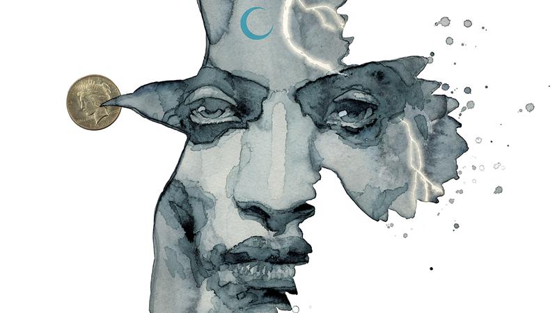 Cover art for American Gods: Shadow's Hardcover release.