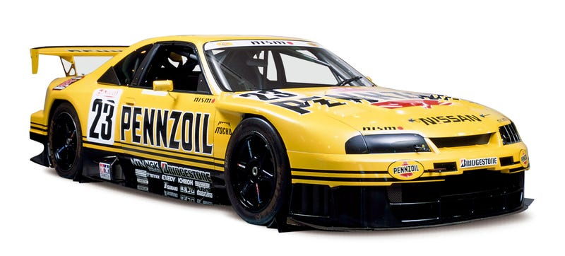 The Pennzoil R33 that raced in Japan and claimed their GT championship's driver's title in 1998. Photo: Nissan