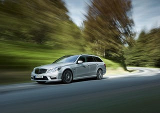 Illustration for article titled 2010 Mercedes E63 AMG Wagon