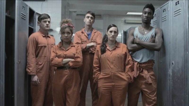 """Illustration for article titled Misfits: """"Series Three, Episode Eight"""""""