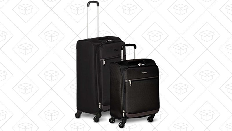 AmazonBasics 2-Piece Luggage Set | $60 | Amazon