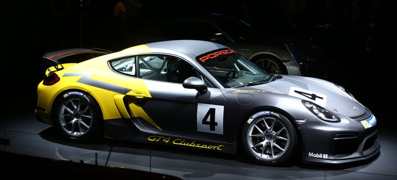 Illustration for article titled The Porsche Cayman GT4: Why Buy A Supercar When You Can Buy A Race Car Instead?