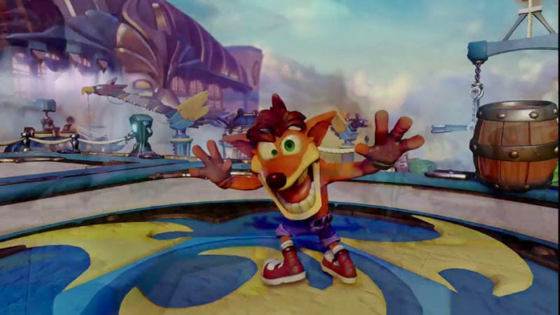 Illustration for article titled Crash Bandicoot Getting Remastered For PS4