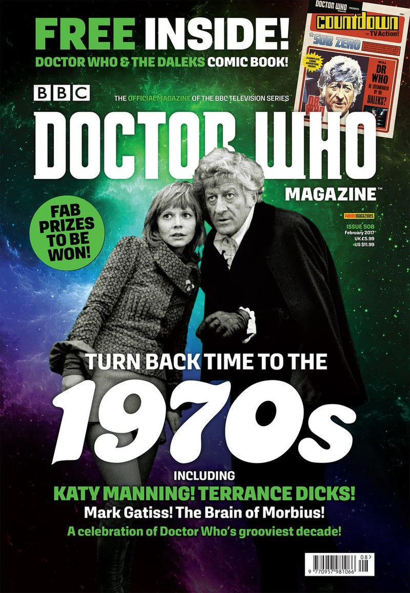 Illustration for article titled Free Seventies Doctor Who Comic