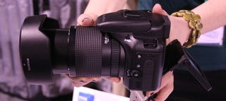 Illustration for article titled Hands On Fujifilm S100FS Faux DSLR: Why?