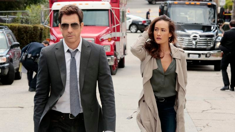 Kevin Williamson PRESENTS Dylan McDermott IS STALKER. (Also, Maggie Q is in this?!) (CBS)