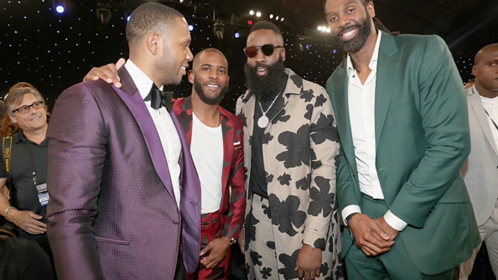 9522d3679e35 Baller Alert: Is This the 2018 NBA Awards or the NBA Fashion Awards?