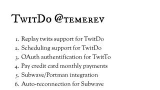 Illustration for article titled TwitDo Uses Twitter to Build and Manage Your To-Do List