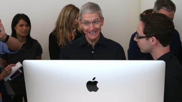 Apple s New iMac Might Finally Go Big