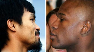 Manny Pacquiao; Floyd Mayweather Jr.Chris Cozzone/AFP/Getty Images