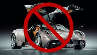 Illustration for article titled Feds block Pagani Huayra U.S. sales over air bags for kids