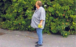 Illustration for article titled Shameful Google Street View Photo Prompts Man To Lose 100 Pounds