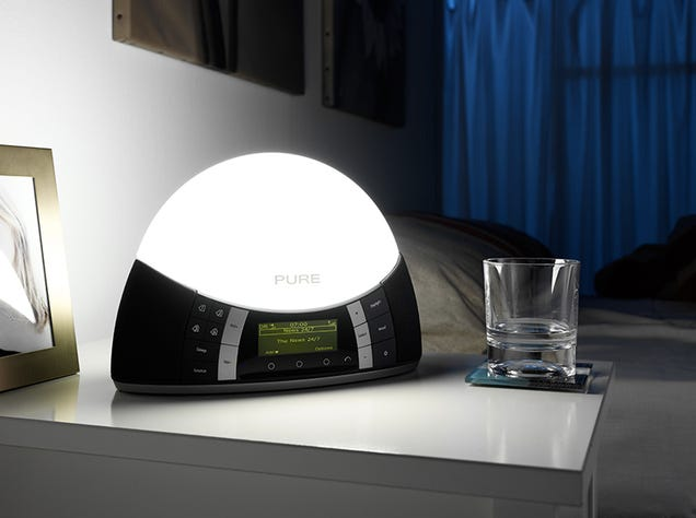 pure combines sad light with a digital radio for edward. Black Bedroom Furniture Sets. Home Design Ideas
