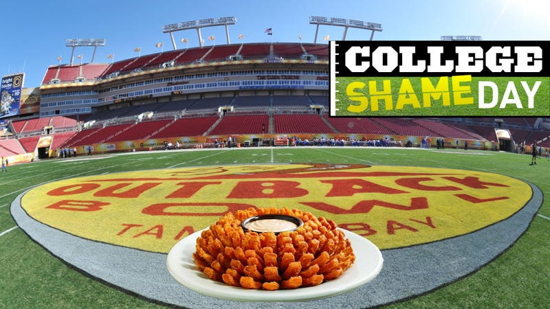 Illustration for article titled College ShameDay: What Is The Heart Of Dallas? How Long Can Pat Fitzgerald Hold A Car Above His Head? Your New Year's Day Bowl Games FAQ
