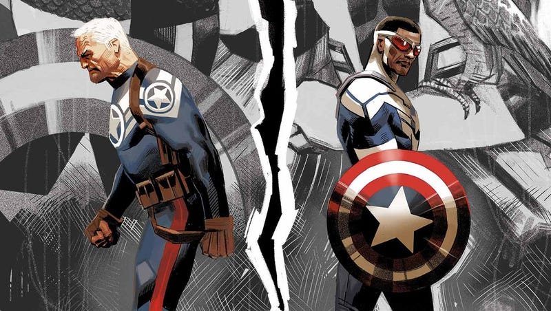 Illustration for article titled Why the Original Captain America Is Mad At the New Captain America