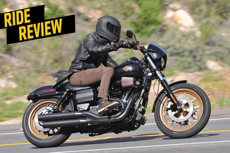 Ride Review The 2016 Harley Davidson Low Rider S Is The
