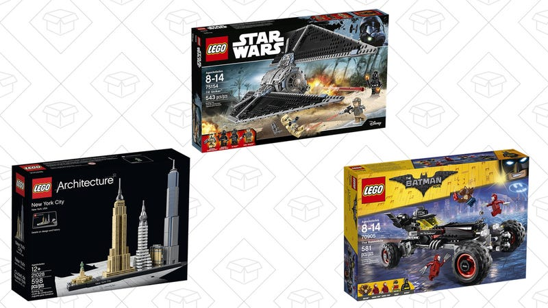 LEGO Sets, $9 off with code BIGTHANKS