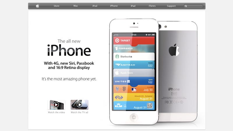 Illustration for article titled Apple's Next iPhone Home Page Will Probably Look Like This