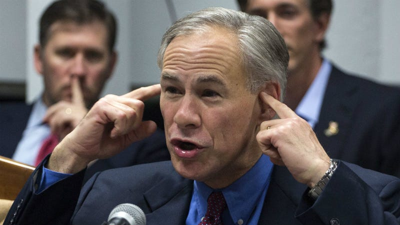 Illustration for article titled Texas Governor Greg Abbott Releases Bananas Plan to Overthrow the Federal Government