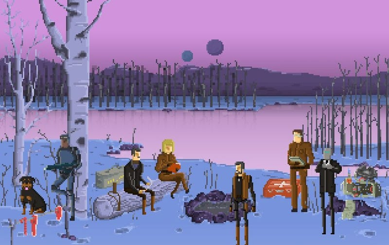 Illustration for article titled A Survival Sim That (Mostly) Takes Place On A Single Screen