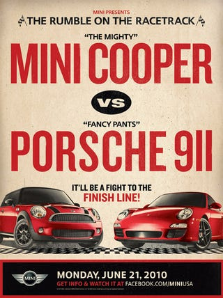 Illustration for article titled Porsche Refuses To Race Mini