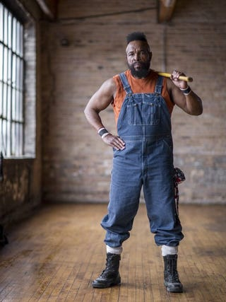 Illustration for article titled This just in: Mr. T to host home renovation show
