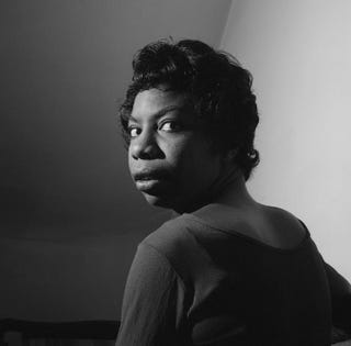 Nina Simone is the subject of several new films, including the Netflix documentary What Happened, Miss Simone? It debuts June 26.Courtesy of Herb Snitzer/Netflix