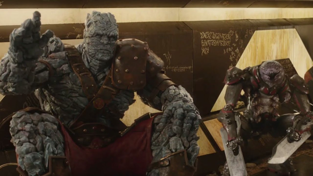 Korg and Miek Go to War in This Avengers: Endgame Concept Art