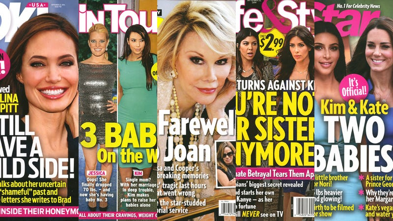 Illustration for article titled This Week in Tabloids: Downtrodden Kardashians Plan Mutiny Against Kim