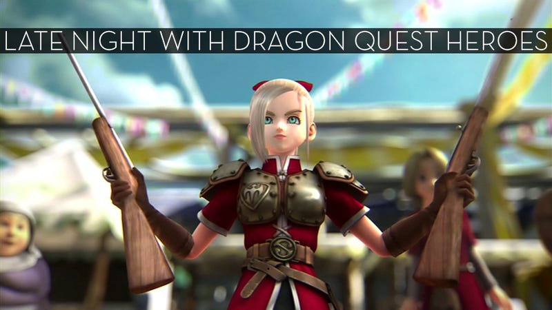 Illustration for article titled The Up All Night Stream Plays Dragon Quest Heroes [Stream Complete]