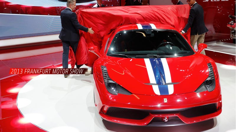 Illustration for article titled The Ferrari 458 Speciale Is Just A Little Hideous