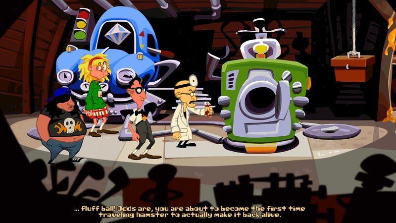 Illustration for article titled Play the Free Fan-Made Sequel to the Adventure Game 'Day of the Tentacle'
