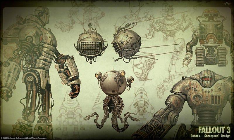 Adam Adamowicz S Incredible Post Apocalyptic Fallout 3