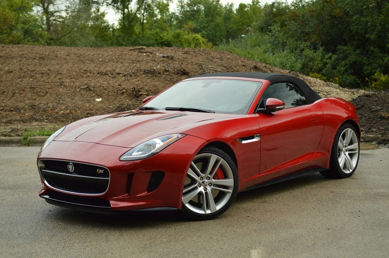 Illustration for article titled The 2014 Jaguar F-Type V8 S: This Second. In This Car.