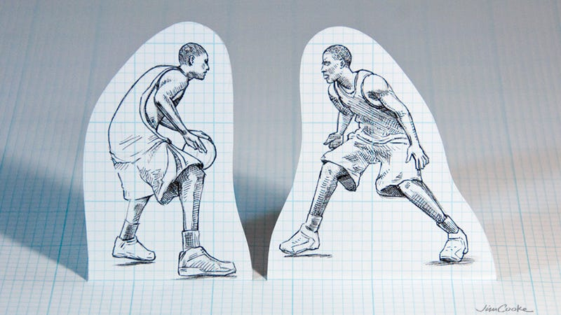 Illustration for article titled What Would A 16-Man NBA One-On-One Tournament Look Like?