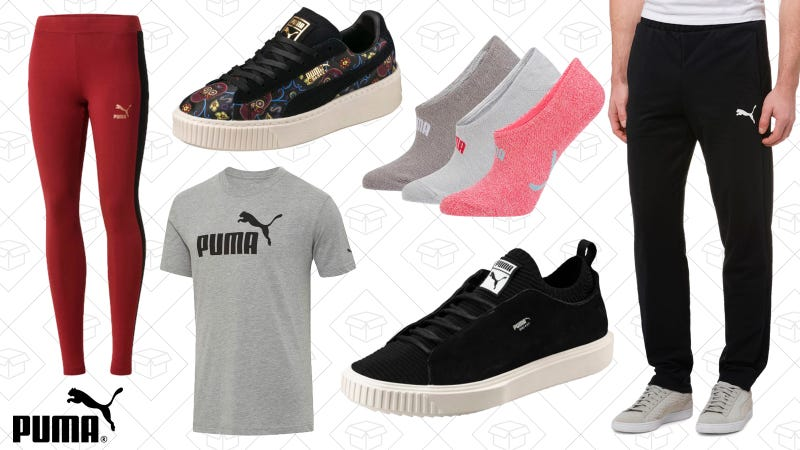 40% off full-price styles, 25% off sale styles, and free shipping | PUMA | Use code HOLLA20
