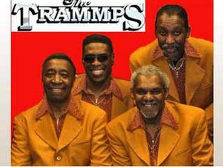 James T. Ellis (bottom right) with the rest of the Trammps (Atlantic Records)