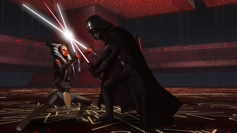 Illustration for article titled Star Wars Rebels Pretty Much Revealed the Fate of Ahsoka Tano