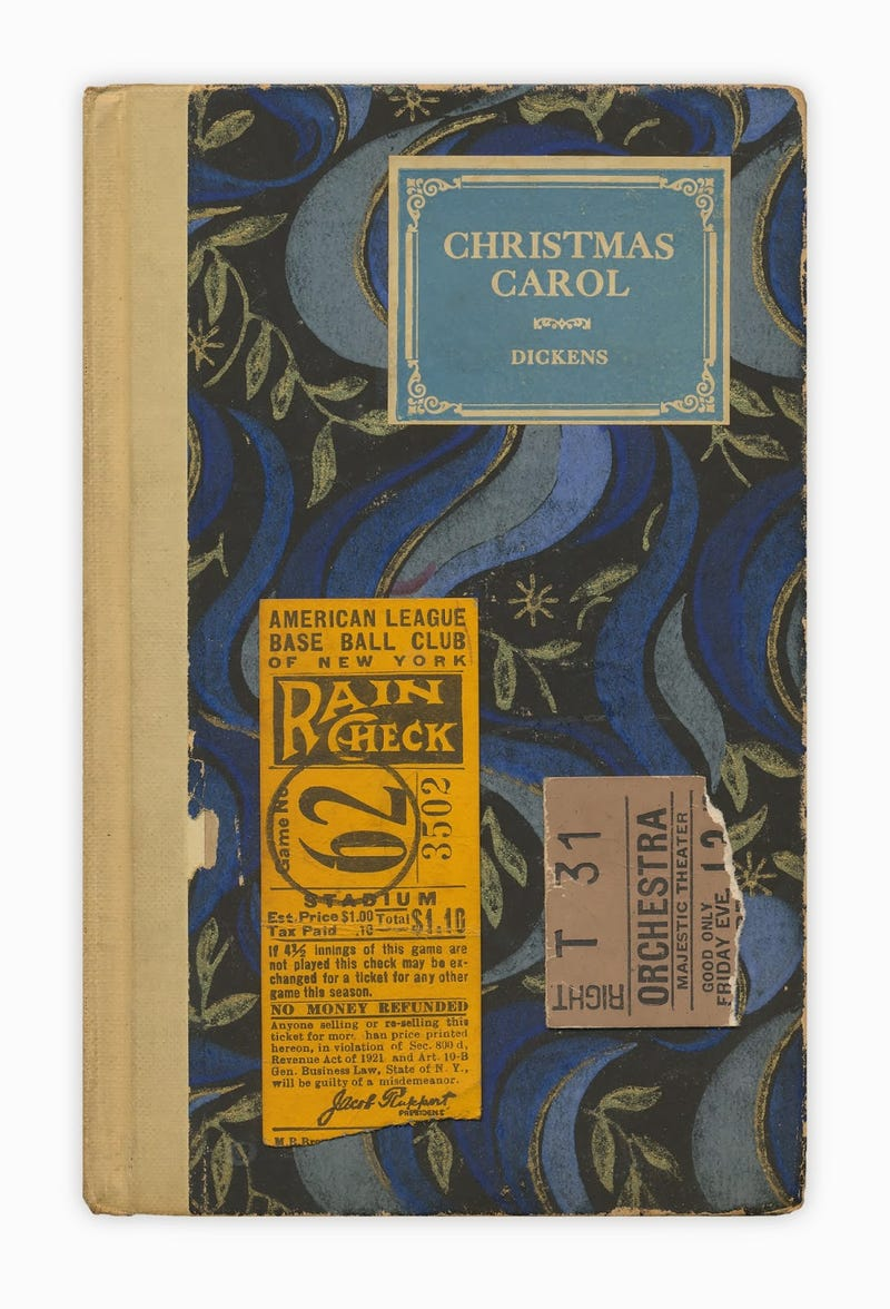 Illustration for article titled A Christmas Carol And The Yankee Stadium Ticket Stub